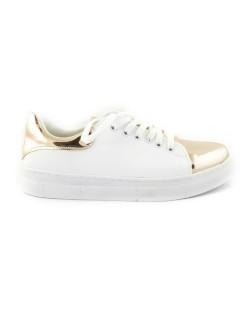 Bronz Ayna Dilli Bayan Günlük Ayakkabı