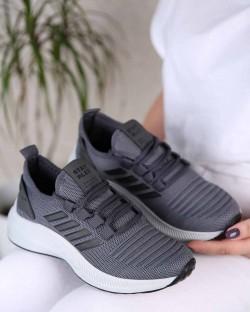Dancy Triko Bağcıklı Kadın Spor Ayakkabı
