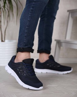 Dema Bağcıklı Poli Taban Erkek Spor Ayakkabı