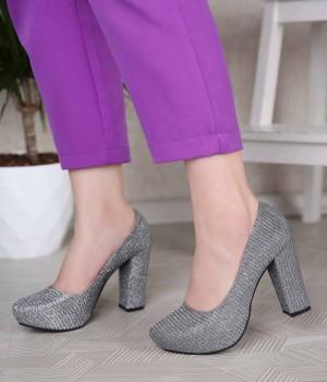 Adalyn Platform Taban Topuklu Kadın Ayakkabı