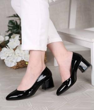 Anise Kısa Topuklu Sivri Burun Kadın Ayakkabı