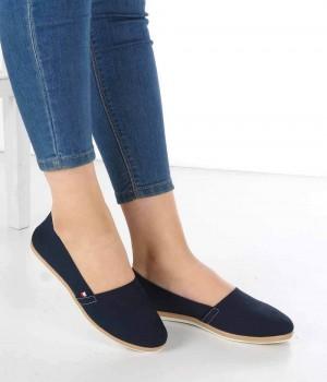 Monte Lacivert Keten Espadril Kadın Ayakkabı