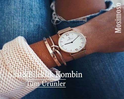 Kadın Saat Bileklik Kombin